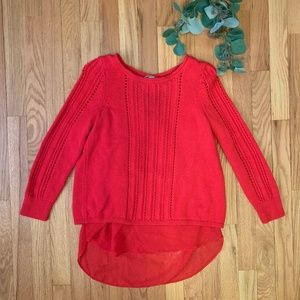 Red Sweater - Sheet Back